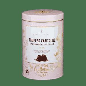 Chokoladetrøfler i gavedåser